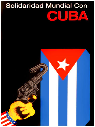 739.Decoration wall design Design Political Poster.No Agressions to Cuba.Castro