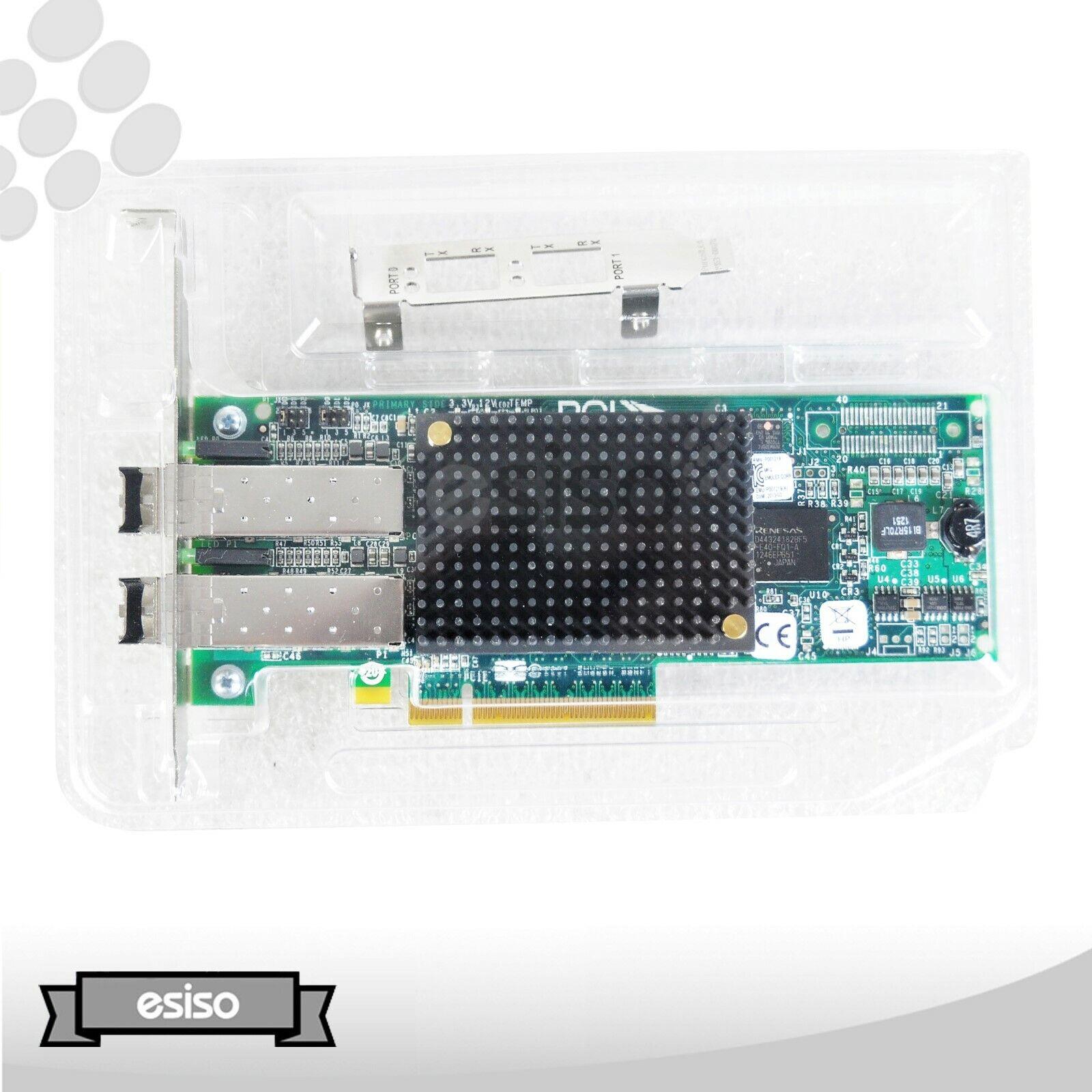 LOT OF 2 42D0494 42D0496 IBM LIGHTPULSE 8GB 2-PORTS FIBRE PCI-E W/ BOTH BRACKET