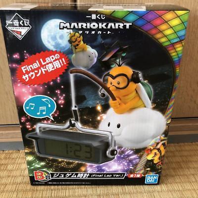 Mario Kart Lakitu Alarm Clock Final Lap Ver B Prize Banpresto Ichiban Kuji used