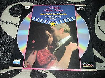 A Little Night Music Laserdisc Elizabeth Taylor Diana Rigg Gratis Versand $30 Seien Sie Freundlich Im Gebrauch