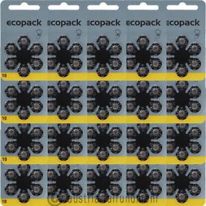 120x-ECO-Pack-VARTA-Hoergeraete-Batterie-V10-PR70-gelb