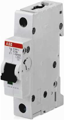 ABB SN201LC20 INTERRUTTORE MAGNETOTERMICO SN201 L C20 1 MODULO 1P+N 4,5KA 20A