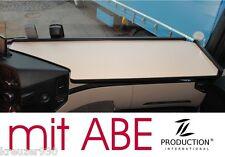 Ablage, LKW Tisch mit ABE passend Mercedes Actros MP4 Giga Space schwarz beige