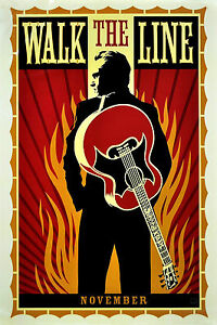 034-Walk-The-Line-034-Johnny-Cash-Classic-Movie-Poster-Various-Sizes