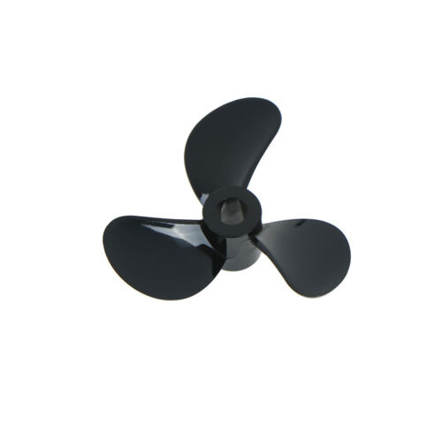 1 pairs Rc boat blades paddle 3 blades nylon boat propeller positive /& rever.ABD
