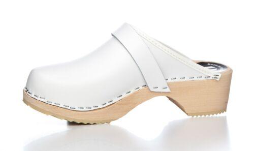 Original Schwedenclogs für Damen 100vit Farbe weiß