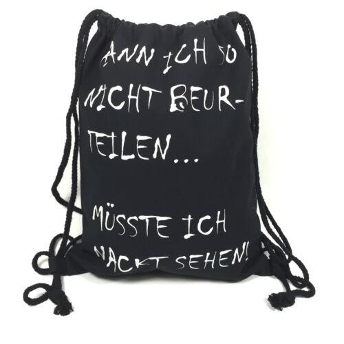 """TURNBEUTEL /""""SPRÜCHE/"""" Gym Bag Tasche LOVE DREAM IT ..."""