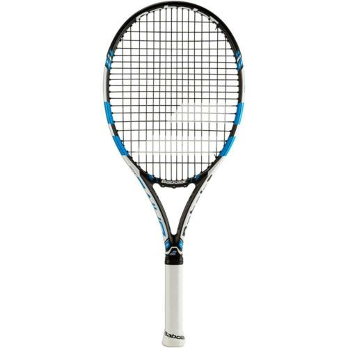 BABOLAT PURE DRIVE JUNIOR TENNIS RACKET JNR 26 INCH, FULL COVER FREE 2015