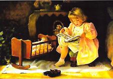 children christmas /' modern new unposted postcard RDG # 7