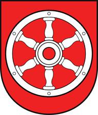 Wappen von Erfurt Bügelbild, Aufbügler, Markenqualität