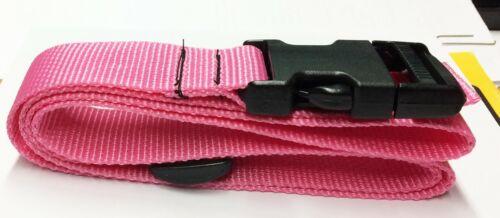 2 straps Cargo Lash Strap Camping 1½ wide SR Buckle Pair of Pink Lashing Straps