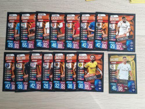 Match Attax 19//20 2019//20 extra Set Completo De Tarjetas Mega exclusivo de estaño