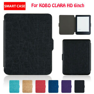 For-KOBO-CLARA-HD-6inch-Protective-Magnetic-Slim-Leather-Case-Smart-Case-Cover