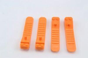 Lego-Brick-and-Axle-Separator-Tool-Orange-Lot-of-4-New