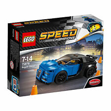 75878 LEGO Speed Champions Bugatti Chiron Car 181 Pieces Age 7-14 New for 2017!