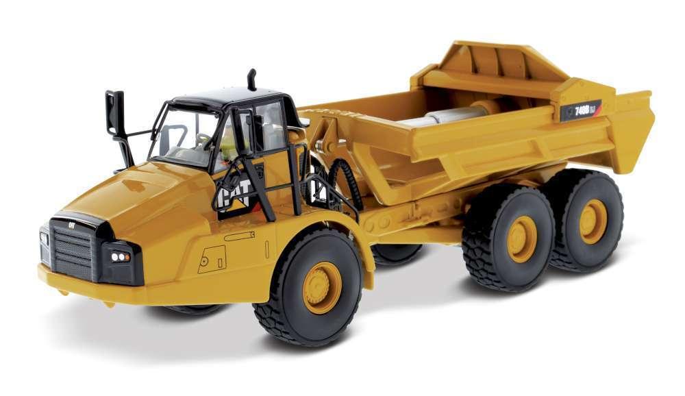 1 50 Scale Diecast Masters 85500 CATERPILLAR 740B EJ éjecteur Camion-Entièrement NEUF dans sa boîte
