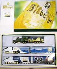 BITBURGER OLYMPIA Truck-Set - 3er Set in showbox-Limited Edition - (OVP) NUOVO