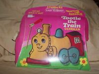 Vintage 1973 Tootle The Train Little Golden Book Cuddler Craft Kit