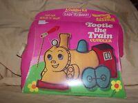 Vintage 1973 Tootle The Train Little Golden Book Cuddler Craft Kit