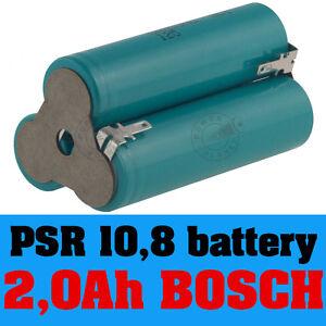 bosch psr 10 8 li replacement battery li ion 10 8v spare parts cordless drill ebay. Black Bedroom Furniture Sets. Home Design Ideas