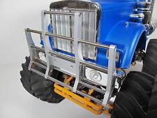 Aluminum Front Bumper Ptotector Guard for Tamiya 1/10 Bullhead Tractor Truck