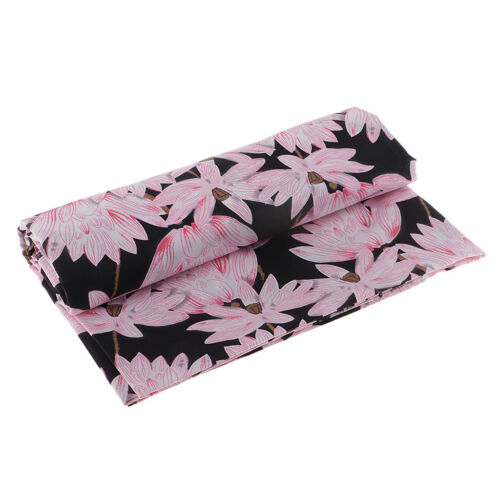 """59/"""" Extra Wide Cotton Fabric DIY Dress Chinese Lotus Sewing Japanese Style"""