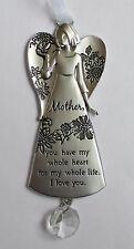 c Mother you have my whole heart I love you A Family's Love ANGEL ORNAMENT Ganz