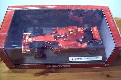 1/18 Ferrari F2008 Kimi Raikkonen 2008-mostra Il Titolo Originale Famoso Per Materie Prime Di Alta Qualità, Gamma Completa Di Specifiche E Dimensioni E Grande Varietà Di Design E Colori