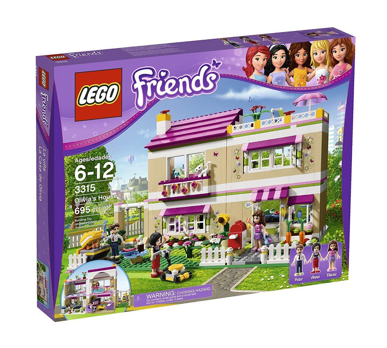 Lego vänner 3315 OLIVIA hus Kitty Mamma docka bakar dagbok Flickor Xmas Gift NY