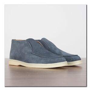 LORO-PIANA-995-Open-Walk-Desert-Boot-In-Jeans-Blue-Suede-Calfskin