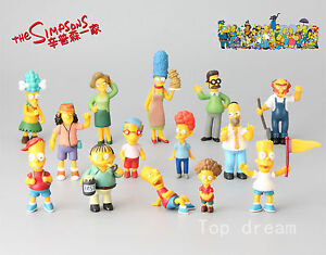 14X-The-Simpsons-Family-Bart-Simpson-Homer-Mini-Action-Figure-Cake-Toppers-Toys