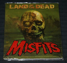 """The Misfits Land of the Dead 4"""" x 4"""" New Vinyl Sticker 2010 Issue Halloween OOP"""