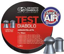 JSB corrispondano esattamente DIABOLO test -.177 PELLETS TESTER Pack