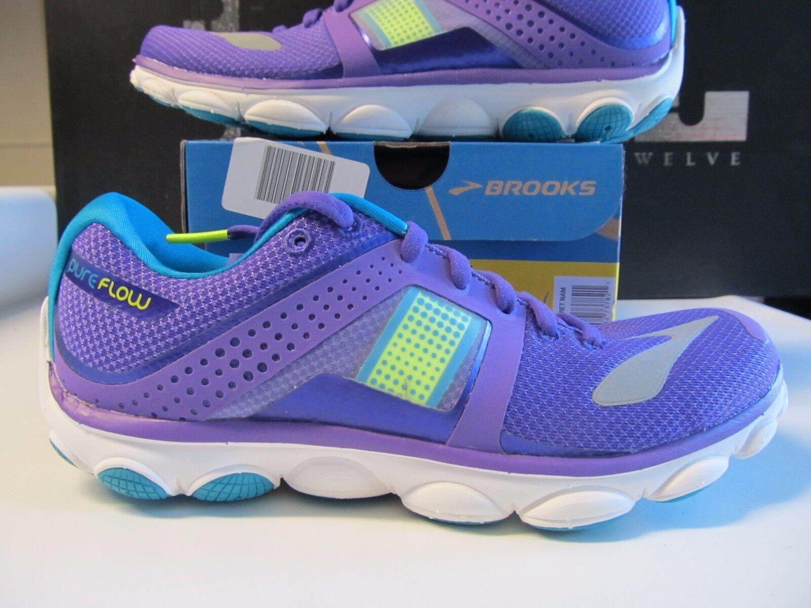Señora Brooks Pureflow Pureflow Pureflow 4 púrpura vida nocturna pfauenazul zapatillas 1201801b524 bb464f