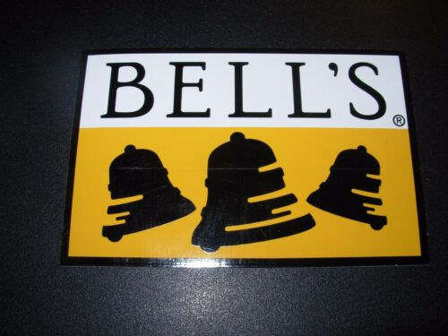 BELLS BREWING Updated LOGO STICKER decal craft beer oberon ale