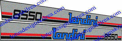 Other Sign Making Supplies Decals Dependable Performance Sign Making Supplies Spirited Landini 50 Series Tractor Stickers