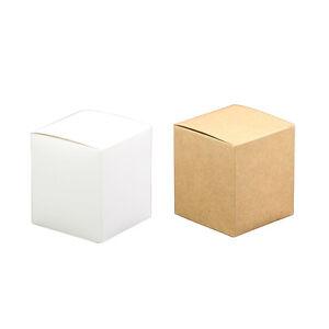 Süßigkeiten Papier für Kraft Handgefertigte Box Verpackung Verpackung Quadrat
