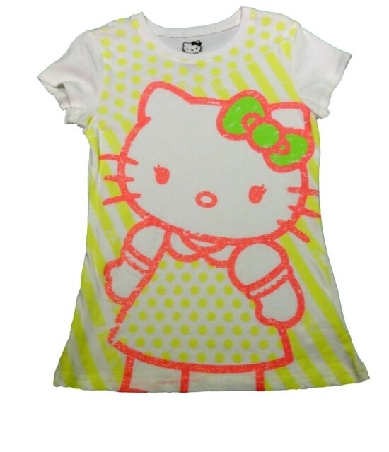 Hello Kitty Girls tee t shirt top New with tags Free postage various sizes