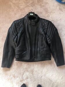Dannisport-Ladies-Leather-Motorcycle-Jacket-Size-UK-12