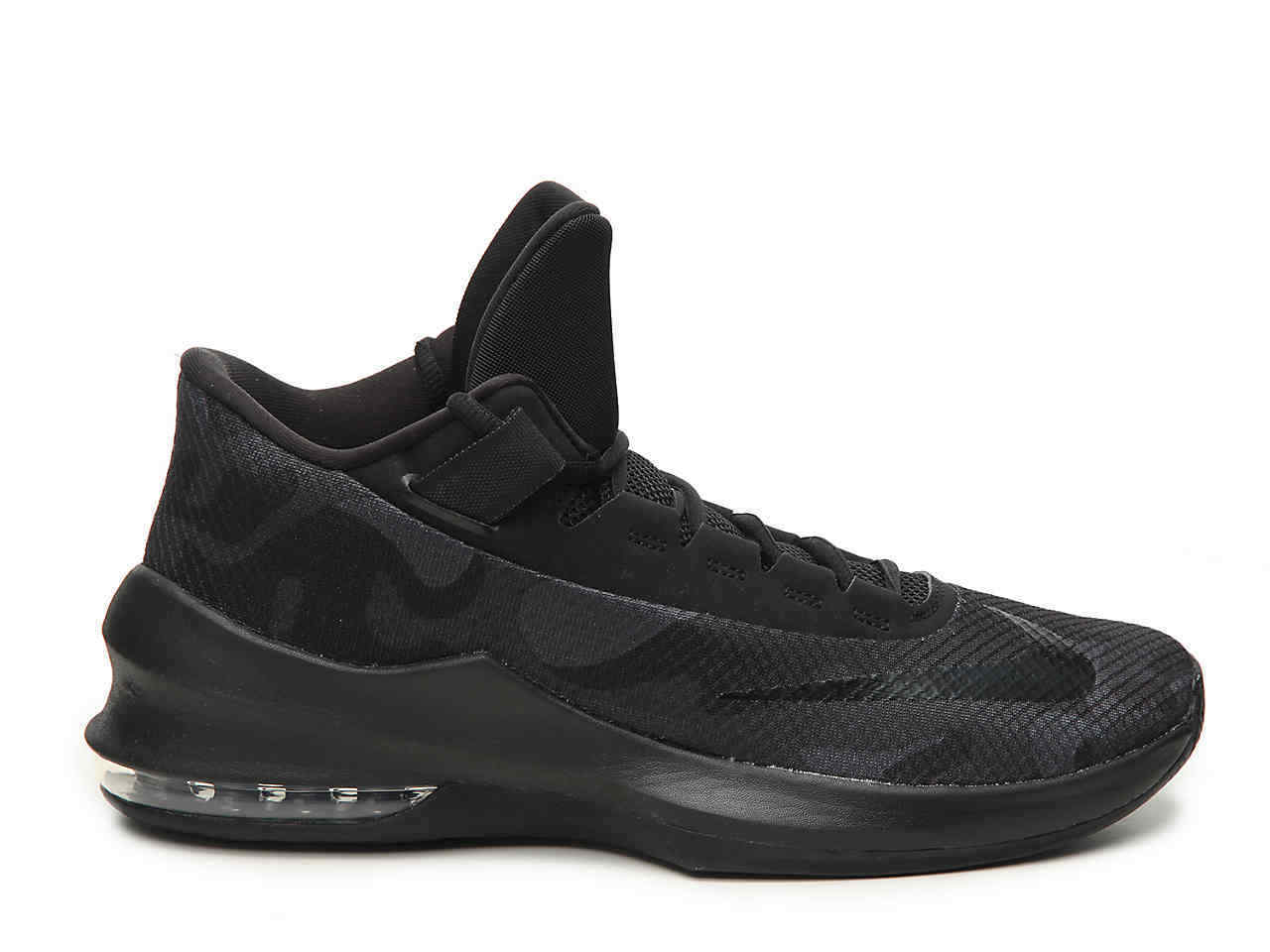 Mens Mens Mens Nike Air Max Infuriate 2 Mid PRM Basketball shoes Black Grey AO4428 001 c8d75f