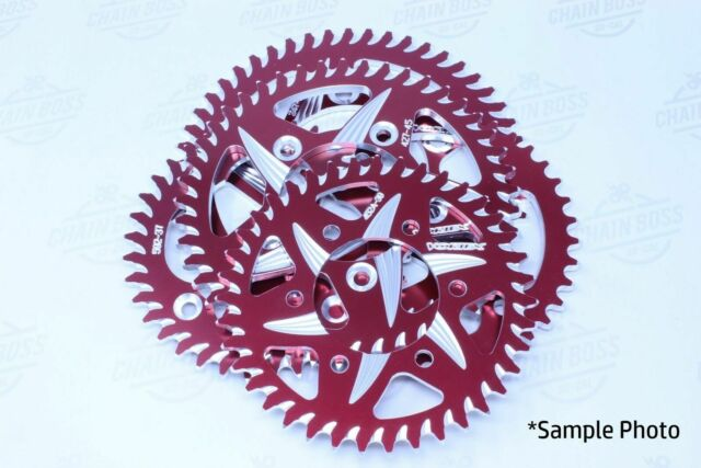 Vortex 465ZR-42 Red 42-Tooth Rear Sprocket