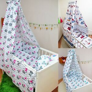 9-Pcs-Baby-Nursery-Bedding-Set-CANOPY-Bumper-fit-Cot-120x60-or-Cot-Bed-140x70cm