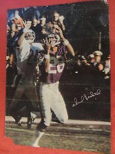 VINTAGE-1970-039-S-NFL-MINNESOTA-VIKINGS-POSTER-SPORT-ILLUSTRATED-SI-AHMAD-RASHAD