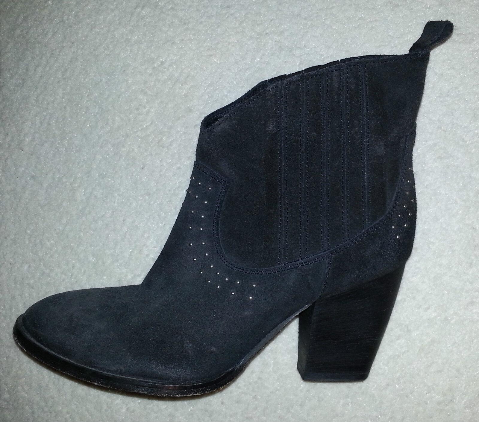 Pied A A Pied Terre Negro botas De Gamuza Talla 5 e50c5f