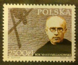 POLAND STAMPS MNH Fi3362 Sc3214 Mi3510 - Maximilian Kolbe, 1994, ** - Reda, Polska - POLAND STAMPS MNH Fi3362 Sc3214 Mi3510 - Maximilian Kolbe, 1994, ** - Reda, Polska