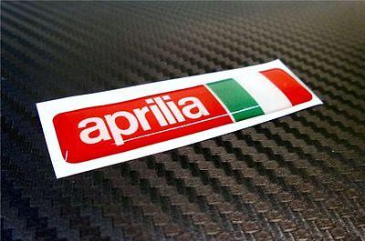 Aprilia Factory Lion Decals..on 12 year vinyl...x6