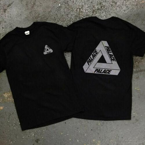 new Palace Skateboards Logo Men Black T Shirt Summer 2020 size S-2XL GILDAN
