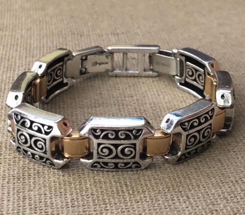 Brighton Vintage Two Tone Link Bracelet