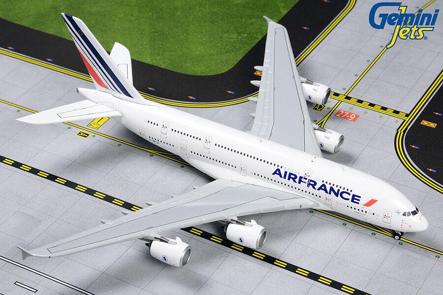 GEMINI JETS AIR FRANCE AIRBUS A380-800 1 400 DIE-CAST MODEL GJAFR1861 IN STOCK