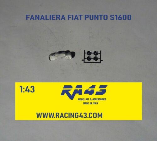 1//43 Fanaliera Fiat Punto S 1600 additional headlights